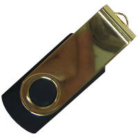 USB Gold Edition Twist Flashdrives