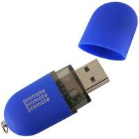 Promotional USB Bullet Flashdrive Printed with Your Logo from Total Merchandise
