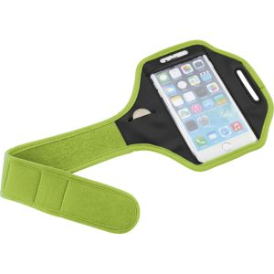 Smartphone Arm Straps in Lime