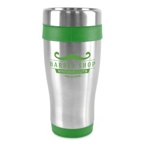 Promotional insulated travel mugs branded giveaways