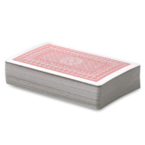 Playing Card Sets in Red
