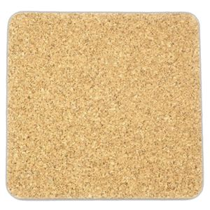 Bonded Leather Cork Coasters