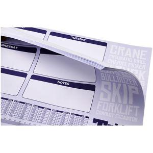 25 Sheet A2 Desk Pads