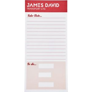 25 Sheet Third A4 Note Pads
