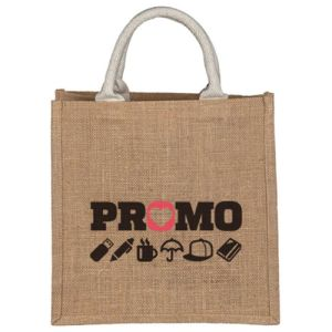 Small Jute Bags in Natural
