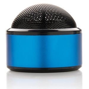 Wireless Dome Speakers in Blue