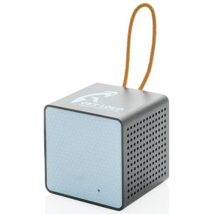 Wireless Cube Speakers in Blue/Black