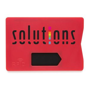 RFID Anti Skimming Cardholders in Red