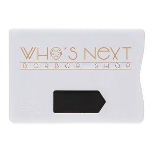 RFID Anti Skimming Cardholders in White