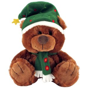 Promotional Christmas Teddy Bear is great for your company's giveaway this festive season!