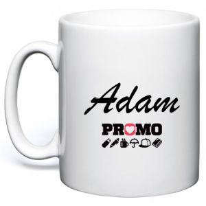 Any Name Photo Mugs in White