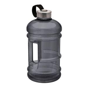 Promotional 2 litre water bottle in grey