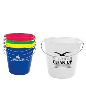 Promotional 10 Litre Buckets are ideal for Charity Events