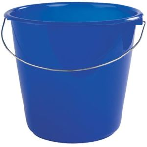 Colourful Buckets for Advertising in the Workplace