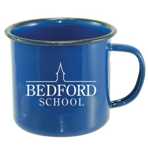Corporate branded mugs with company design print