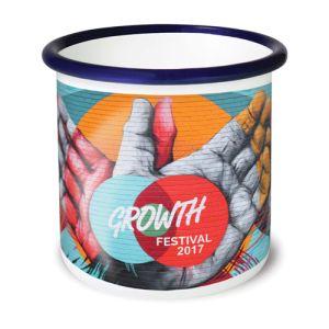 10oz Premium Full Colour Enamel Mugs