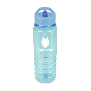 800ml Coloured Plastic Drinks Bottles in Cyan