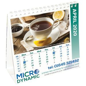 Promotional Square Easel Calendars for any desk