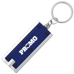 Promotional LED Keyholder Lights custom printed with logo