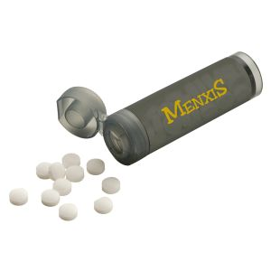 Dark Grey Personalised Mints for Promotional Giveaways