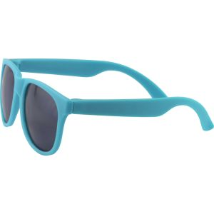 Full Colour Printed Sunglasses in Light Blue