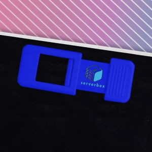 Blue Branded Webcam Covers for all Marketing Campaigns