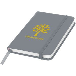 A6 Budget Soft Touch Notebooks in Silver
