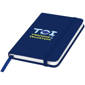 A6 Budget Soft Touch Notebooks in Navy