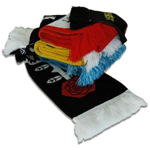 Corporate Branded Jacquard Knitted Scarf with your Logo