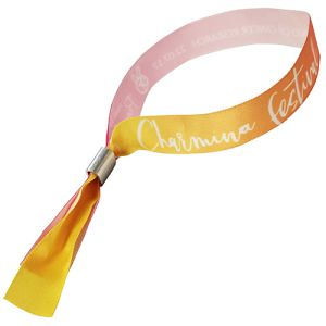 Promotional Fabric Wristbands for Exhibition Events
