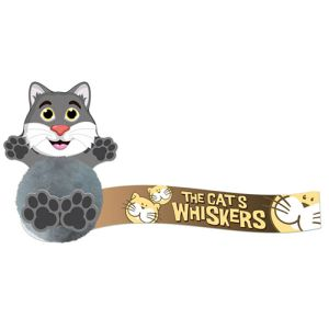 Custom Branded Cat Shaped Message Bugs for Advertising Campaigns