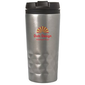 Corporate Branded Stainless Steel Thermal Mugs with Double Walled Construction