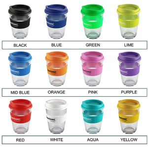 Logo Printed Take Away Mugs in a Variety of Colours to Suit Your Brand