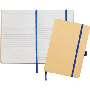 Printed A5 Recycled Paper Notebooks with branded logo
