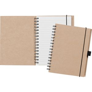 Promotional A5 New Birchley Recycled Paper Notebooks for eco events