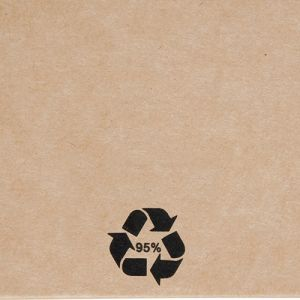 Promotional A5 Recycled Paper Notebooks with recycled logo