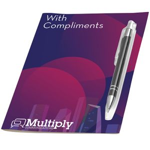 Promotional Pen Greeting Cards Printed with your Company Logo