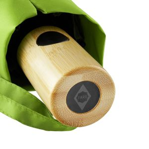 Branded Fare Recycled Umbrellas with bamboo handle