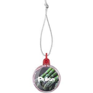 Promotional Mini Printed Insert Christmas Baubles  with logo