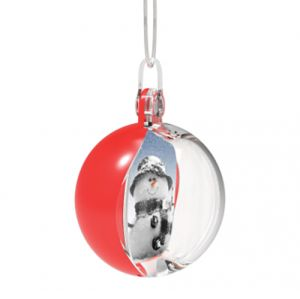 Corporate Personalised Christmas Baubles for Marketing Campaigns