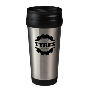 Printed Metal Insulated Take Out Cup with branded logo