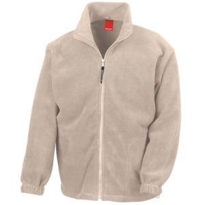 Promotional Branded Zipped Fleece Jackets with Unisex Design