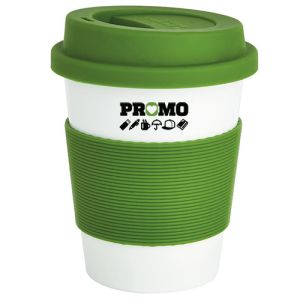 Branded Eco Plant Reusable Coffee Cups from Plant Material