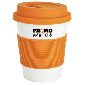 Logo Printed Reusable Coffee Cups for all Marketing Campaigns