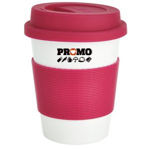 Custom Branded Reusable Take Away Cups as Corporate Giveaway