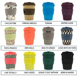Logo Printed Reusable Coffee Cups Printed with your Logo