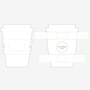 Reusable Coffee Mugs Printed with your Corporate Design