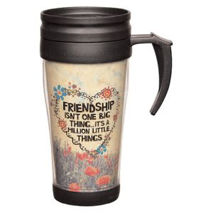 Custom branded Insert Travel Mugs for promotional marketing campaigns
