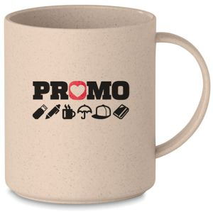 Corporate Branded Eco PP Bamboo Mugs with your Logo