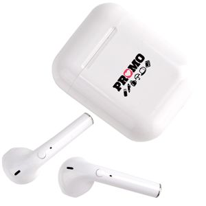 Corporate Branded Wireless Earphones for Marketing Campaigns